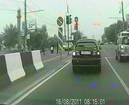 Тырчиковод сбил пешехода