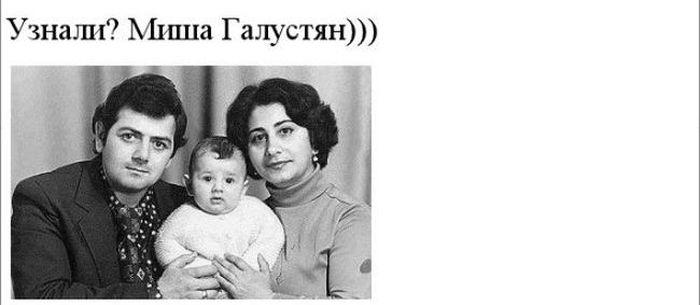 Детские фотографии знаменитостей (4 фото)