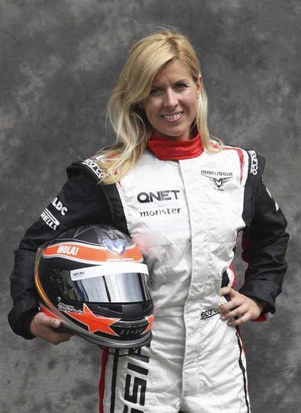 Гонщица Marussia лишилась глаза в результате аварии на тестах Ф-1 (3 фото+текст)