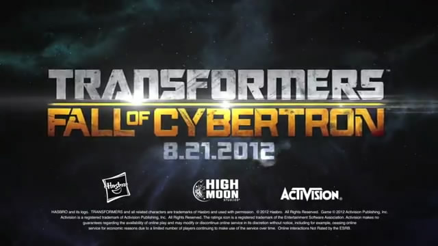 Видео Transformers: Fall of Cybertron – последний бой (видео)