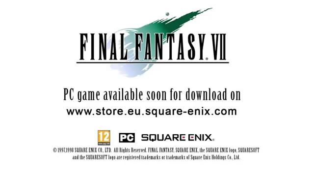 Final Fantasy 7 переиздадут на РС (видео)