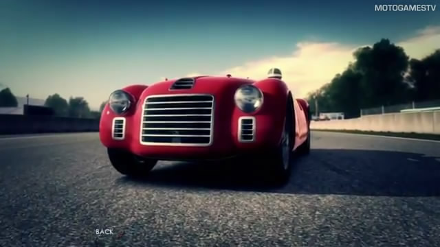 Видео Test Drive: Ferrari Racing Legends – интро и геймплей (видео)