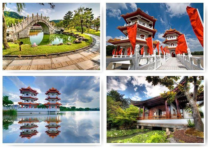 Знаменитые китайские сады (39 фото)