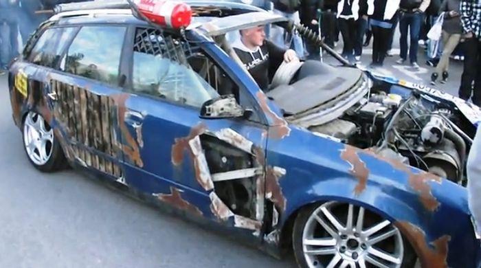 Антитюнинг Audi A4 (8 фото+видео)