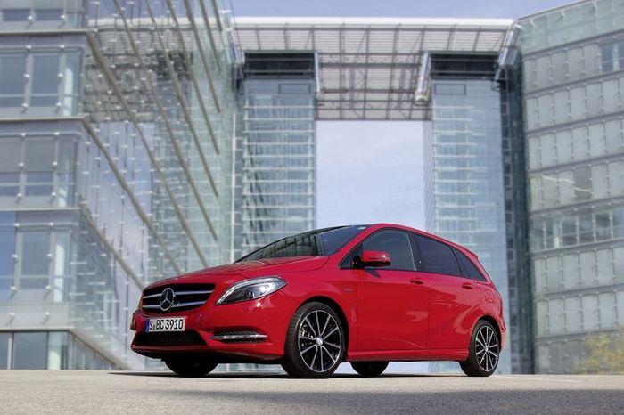 Рублевые цены на новый Mercedes-Benz B-Class (48 фото)