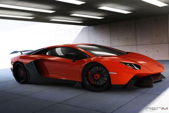 В ателье RENM Performance затюнили Lamborghini Aventador LP700-4 (7 фото+видео)