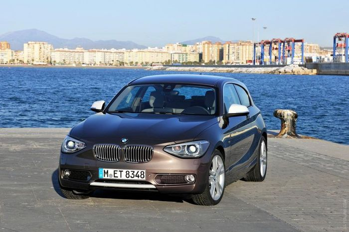 BMW 1-Series получит полный привод и новый двигатель (28 фото)