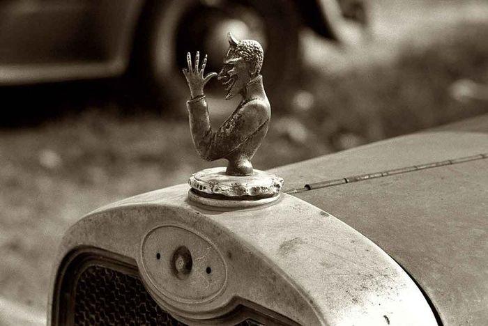 Автомобильная ретро-Америка (151 фото)