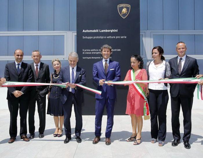 Компания Lamborghini открыла новый дизайнерский центр (5 фото)