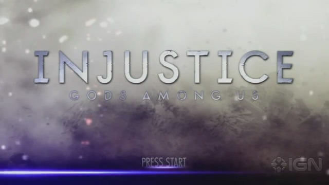 Видео Injustice: Gods Among Us – проба геймплея (видео)