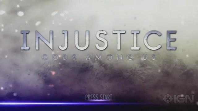 Видео Injustice: Gods Among Us – проба геймплея (видео)