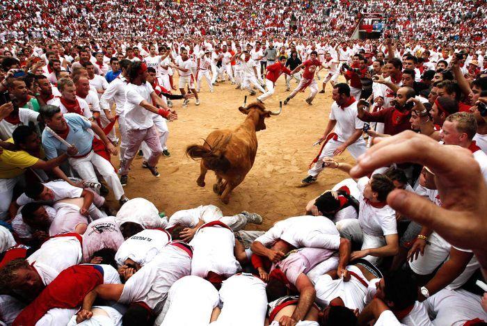 Испанский фестиваль Сан Фермин (39 фото)