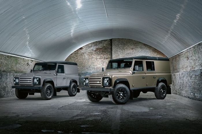Обновленный Land Rover Defender — X-Tech (14 фото)