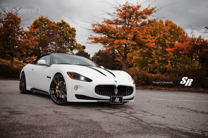 Maserati GranTurismo MC Stradale от тюнеров из Auto Group (6 фото)
