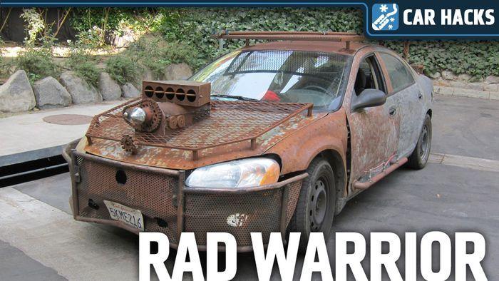 Ржавый воин из Chrysler Sebring (4 фото)