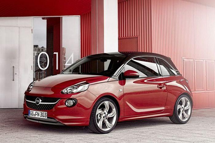 Компания Opel официально представила свой новый компактный хэтчбек Adam (31 фото)