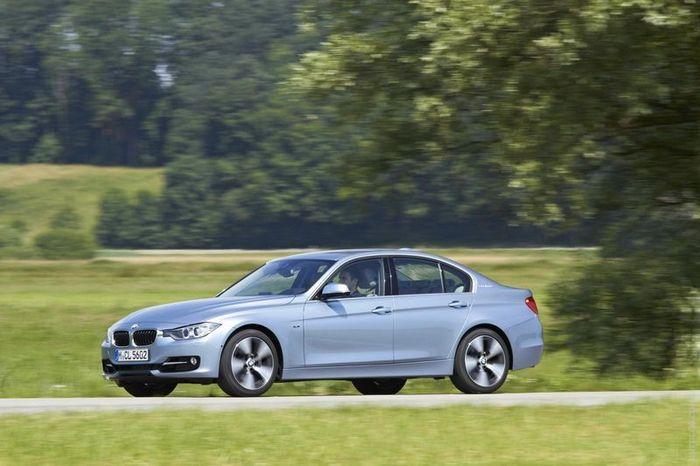 Первые подробности о гибридном BMW ActiveHybrid 3 (86 фото)