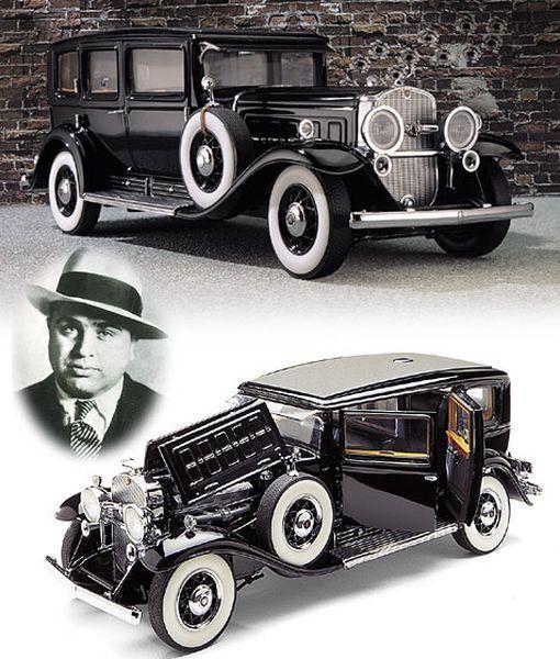 Бронированный Cadillac V-8 1928 года выпуска Аль Капоне продадут на аукционе (2 фото)