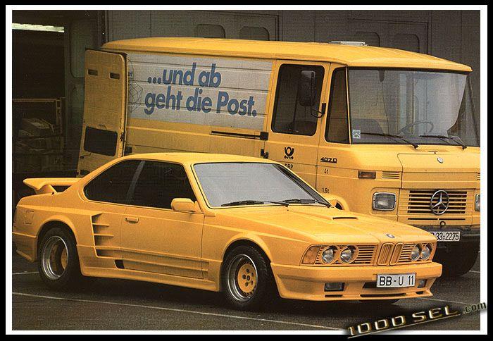 Печальная история BMW M635 CSI в тюнинге от Gemballa (12 фото)