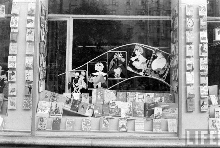 Магазины и витрины 60-х <u>годов</u> - 70-х годов (55 фото)