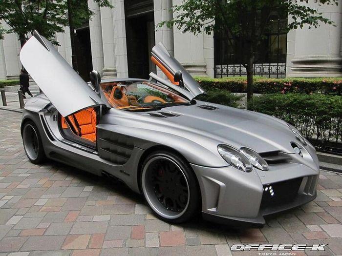 Mercedes SLR Roadster Desire от ателье FAB Design (24 фото)