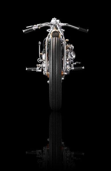 Чикара Нагата и его мотоциклы (19 фото)