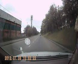 Авария с участием мотоциклиста