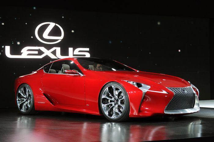 Lexus LF-LC будет отправлен в серийное производство (19 фото)
