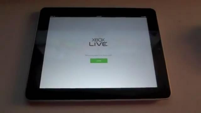Управление Xbox 360 через iPad (видео)