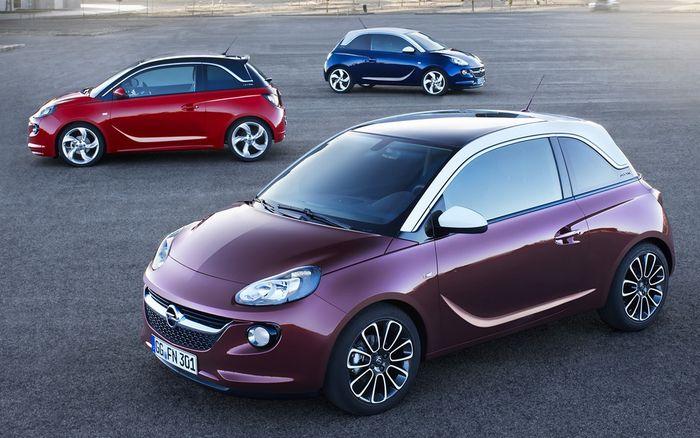 Opel Adam: Немецкий конкурент Fiat 500 и MINI (12 фото)