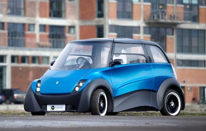 QBEAK — электромобиль с запасом хода 300 километров и перспективной на 800 (5 фото))