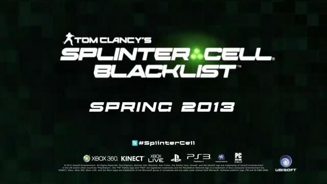 Трейлер Splinter Cell Blacklist - спасение заложника (видео)