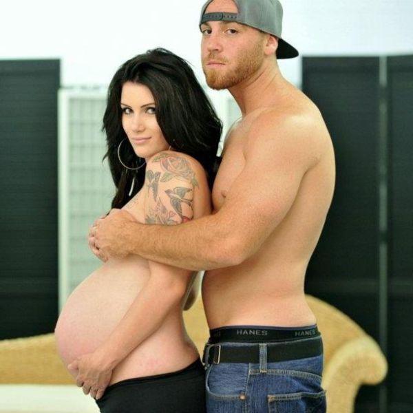 Смотреть фото девушки беременные социальных сетях