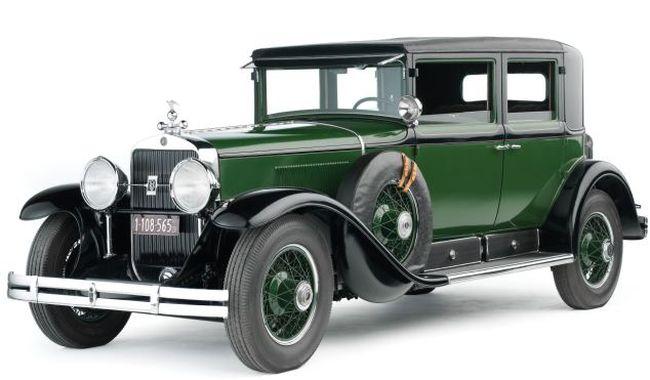 Знаменитый автомобиль Аль Капоне (4 фото)