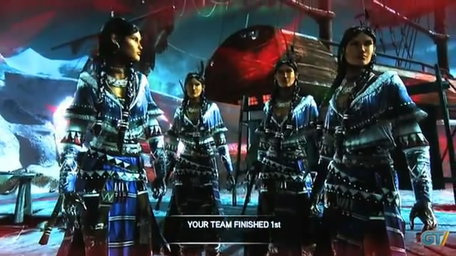 Геймплей Assassin's Creed 3 - режим Domination (видео)