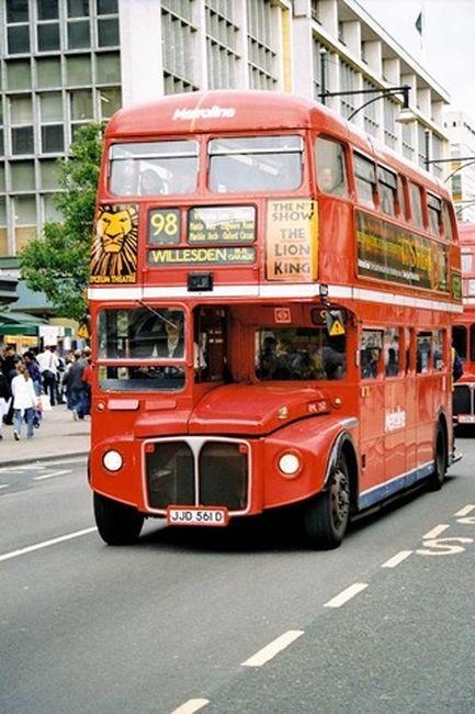 Что можно сделать из лондонского даблдекера?