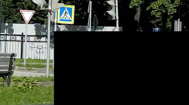 Первое ДТП (видео)