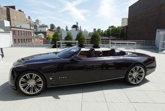 Линейка Cadillac расширится за счет флагманского седана (7 фото)