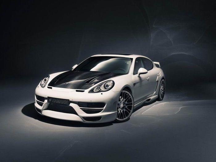 В ателье Hamann добавили мощности Porsche Panamera Turbo (3 фото)