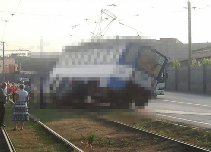 Авария в Новокузнецке (1 фото)