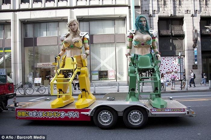 Ресторан нового поколения в Японии (11 фото)