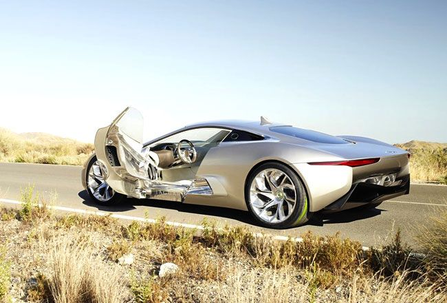 Jaguar рассказал о силовой установке серийного C-X75