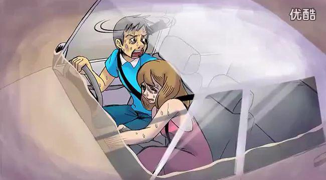 Как спастьсь из тонущего авто (видео)