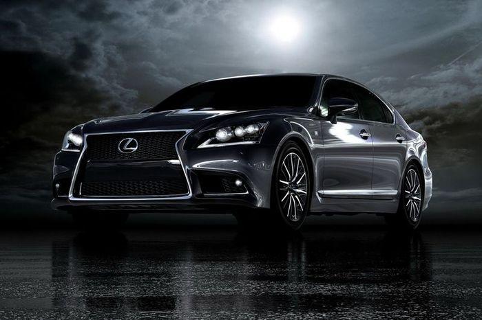 Первые фотографии обновленного Lexus LS 2013 модельного года (36 фото)