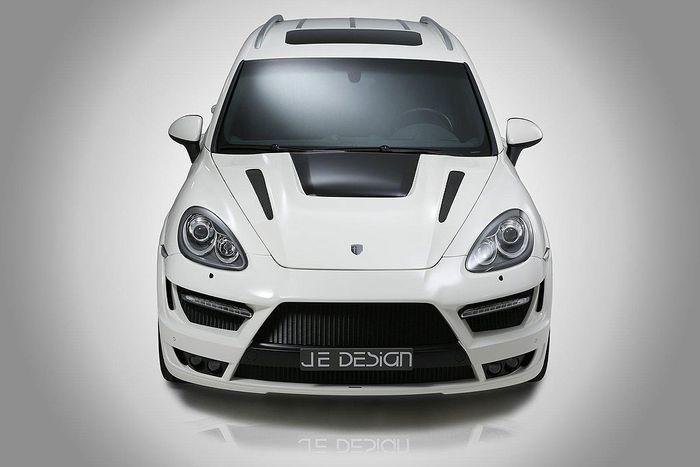 Пакет тюнинга Progressor для Porsche Cayenne от ателье JE Design (13 фото)