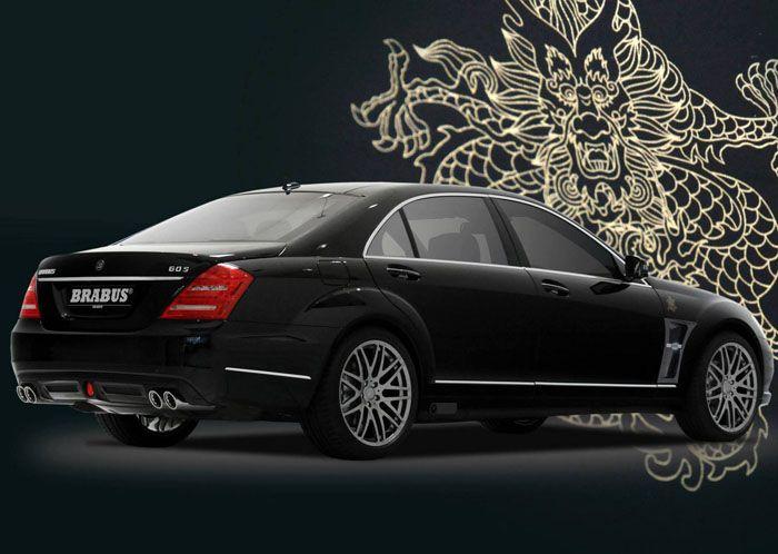 авто, brabus, mersedes, s-class w221,