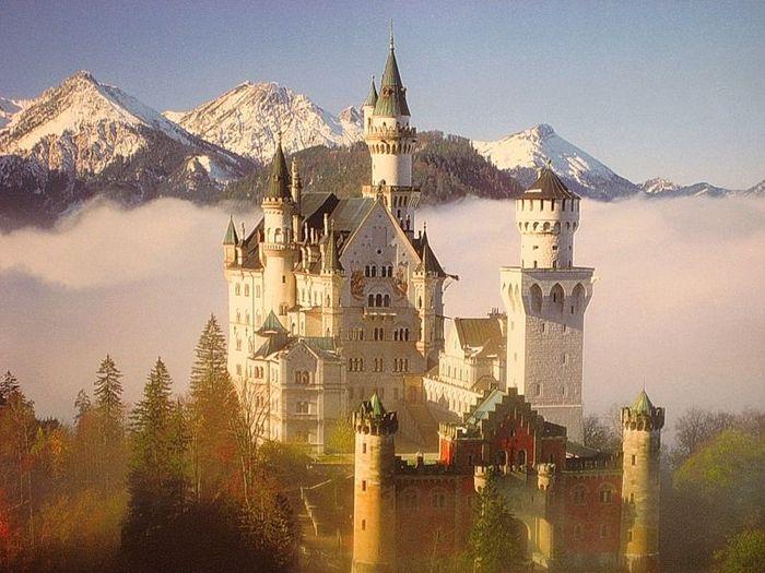 замок, сказка, шедевр
