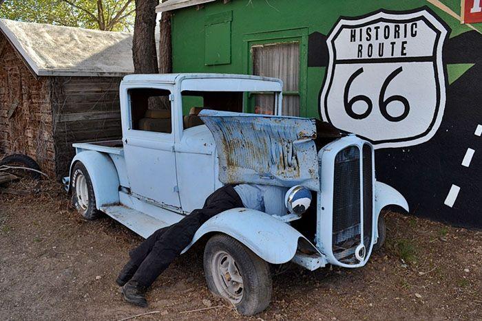 авто, шоссе, сша, route 66,