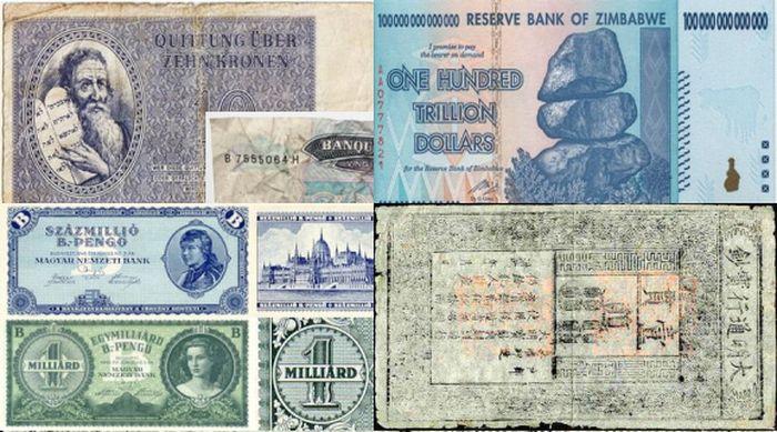банкнота, мир, история