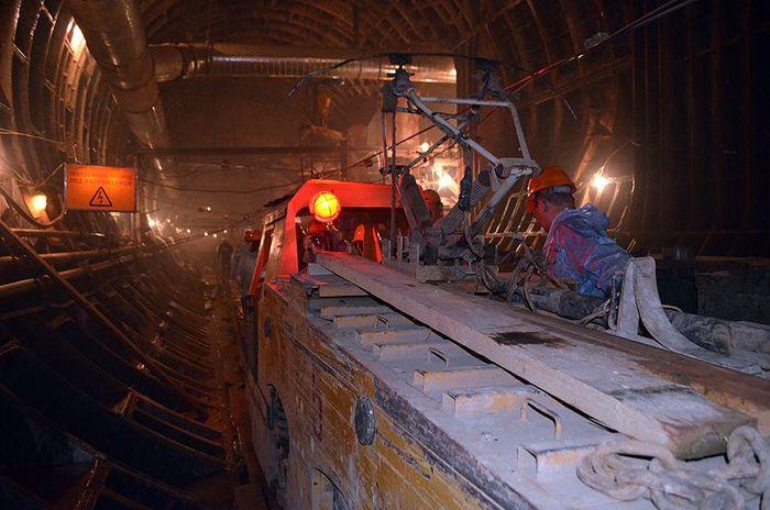 метро, строительство, экскурсия
